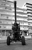 Howitzer artillery — Stock Photo