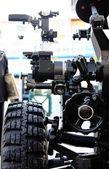 Howitzer artillery detail — Stock Photo