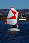 Small sailing boat — Stock Photo