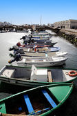Fishing docks — Foto Stock