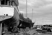 Abandoned Shipyard — Stock Photo