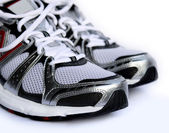 Athletic shoes — Stock Photo