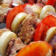 Stock Photo: Shish kebabs