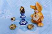 Easters gzhel — Stock Photo