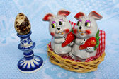 Easter`s gifts — Stock Photo