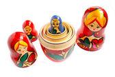 Matreshka - the traditional russian souvenir — Stock Photo