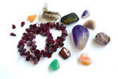 Ural`s semi-precious stones — Stock Photo