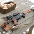 Stock Photo: Sniper rifle