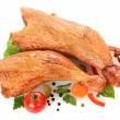 chicken leg&quot — Stock Photo