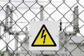 Sign danger — Stock Photo