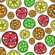 Royalty-Free Stock Vector Image: Citrus pattern