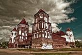 Mir Castle Complex in Belarus — Stock Photo