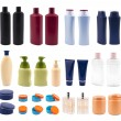 Stock Photo: Lot of cosmetics