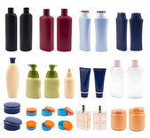 A lot of cosmetics — Stock Photo