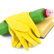 Household cleaners — Stock Photo