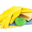 Household cleaners — Foto de Stock