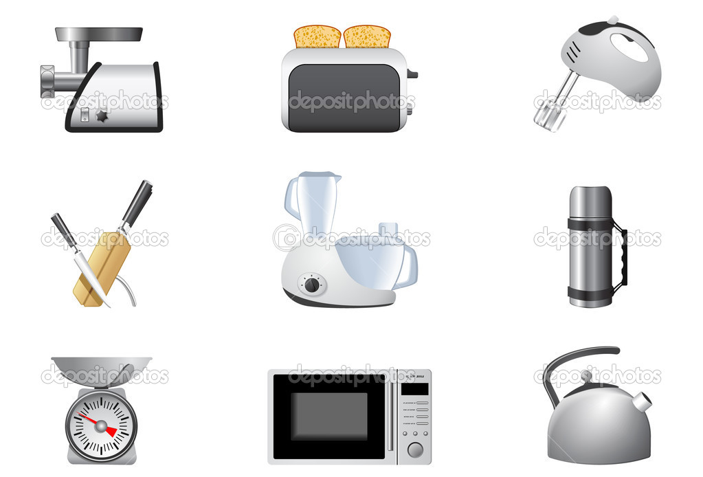 Household appliances, Kitchen  Stock vektor #5353257