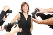 Attrice — Foto Stock