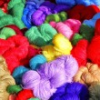 Stock Photo: The colour threads.