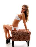 Sexy girl in bikini — Stock Photo