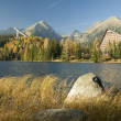Strbske pleso, Hight Tatras, Slovakia — Stock Photo