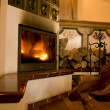 Royalty-Free Stock Photo: Fire place