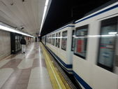 Metro de Madrid — Stock Photo