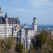 Castle Neuschwanstein - Stock Photo