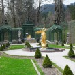 Linderhof Palace Garden - Stock Photo