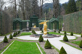 Linderhof Palace Garden — Stock Photo