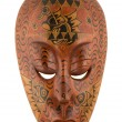 Indonesian mask - Stock Photo