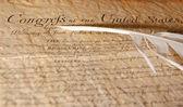 Congresso - dichiarazione di indipendenza — Foto Stock