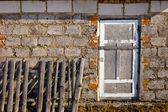 Wall and window. — Stock Photo