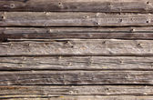 Logs in the wall. A structure — Stock Photo