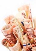 евро деньги. — Стоковое фото