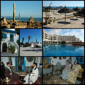 Tunisia collection — Stock Photo
