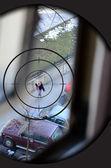 Sniper target — Stock Photo
