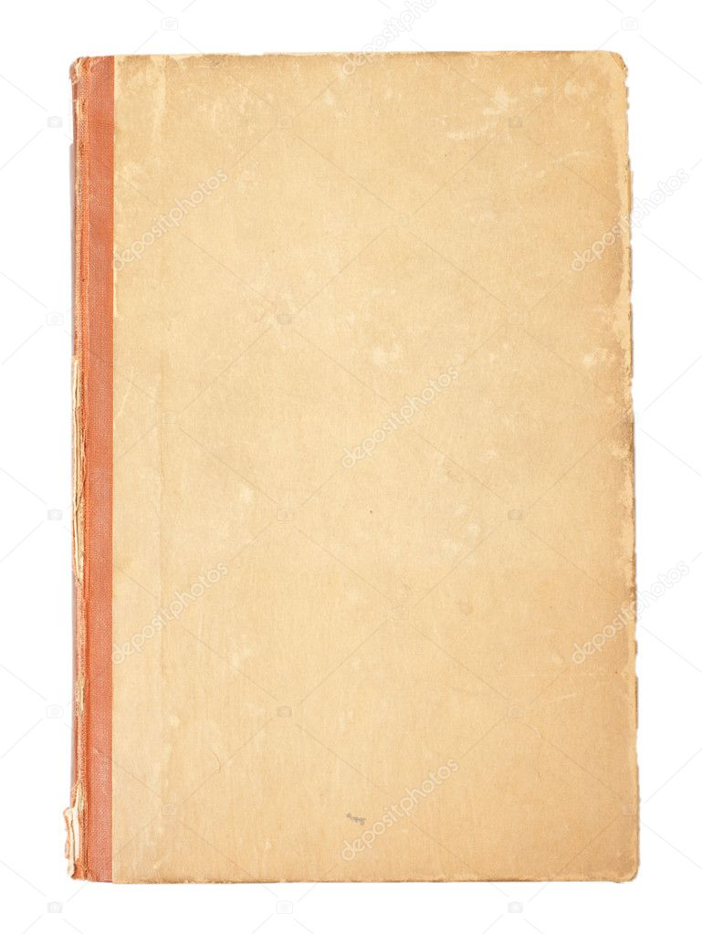 Blank cover of an old vintage book — Stock Photo © Anvar ...
