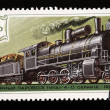 Royalty-Free Stock Photo: Stamp steam locomotives