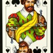 Stock Photo: Knave playing card