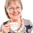 Happy Senior Woman With A Lovely Smile — Stock Photo
