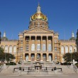 Des Moines Iowa State Capitol Building - Stock Photo