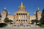 Des moines iowa state capitol building — Stockfoto