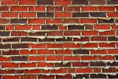 Brick and Mortar Wall — Stock Photo
