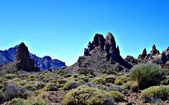 In Teide Nationalpark on Tenerife — Stock Photo