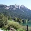 Mountain lake in the Wilder Kaiser — Stock Photo #5360079