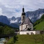 Church St. Sebastian in Ramsau — Stock Photo #5360602