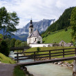 Church before the Reiteralpe — Stock Photo #5360621