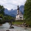 Church in the mountains — Stock Photo
