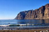 Cliff coast on the Atlantic — Stock Photo